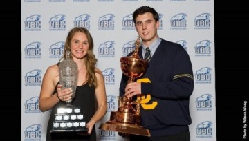 UBC KIN Students Take All Four UBC Athletes of the Year Awards