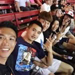 program students selfie