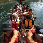 VSP students rowing