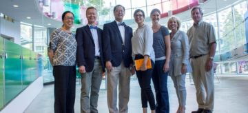 Photos of UBC President Dr. Santa Ono's Visit to ICORD