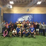 Summer Program group with Thunderbirds