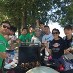 Summer Program barbeque at the beach
