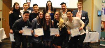 School of Kinesiology recognizes leadership at annual awards banquet