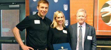 Congratulations Anne Lasinsky, Killam Graduate Teaching Assistant Award winner