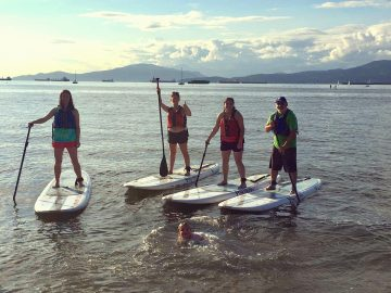 Farewell SUPing Lab Outing