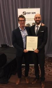 Congratulations to Dr. Jordan Guenette, the recipient of Young Investigator's Award