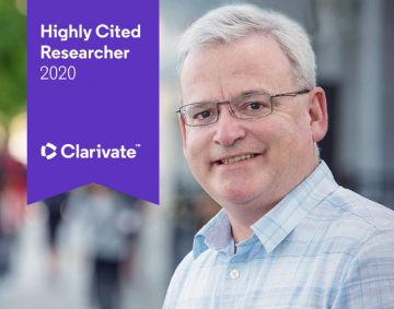 Dr. Guy Faulkner internationally named as one of the most Highly Cited researchers for 2020 and ranked top 1% by citations for social sciences in the Web of Science™